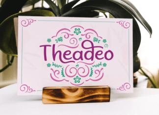 Theadeo Font