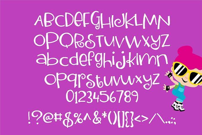 ZP TwinkiesansRegular Font