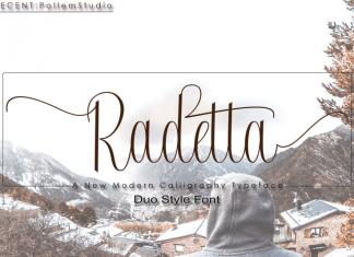 Radetta Font