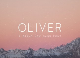 Oliver Font - 3 Weights Included