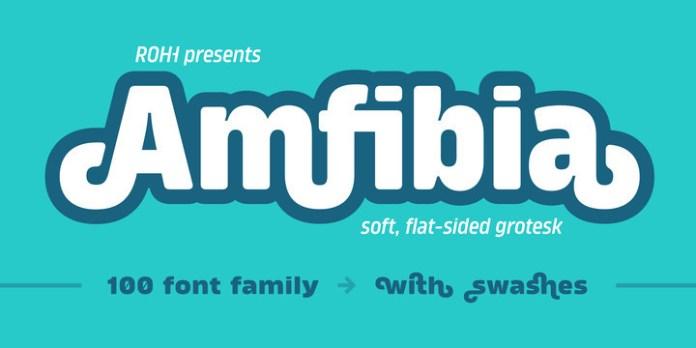 Amfibia Font Family