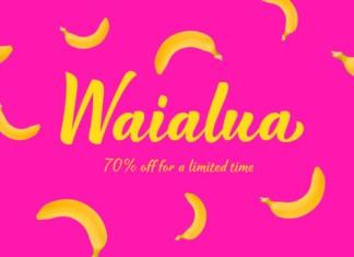 Waialua Font Family