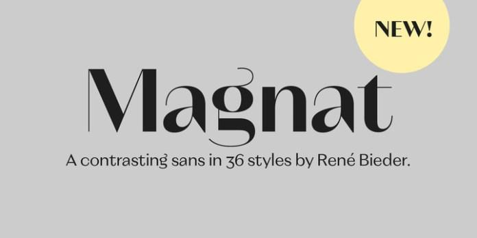 Magnat Font Family