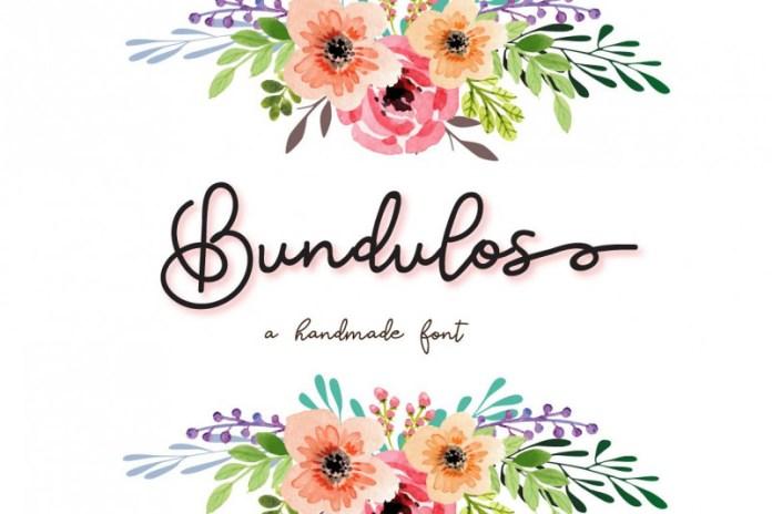 Bundulos Script Font