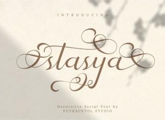 Stasya Script Font