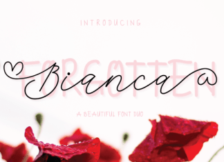Bianca Forgotten Duo Font