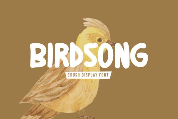 Birdsong Font