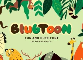 Blubtoon Font