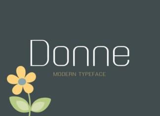 Donne Font