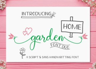 Homegarden Duo Font
