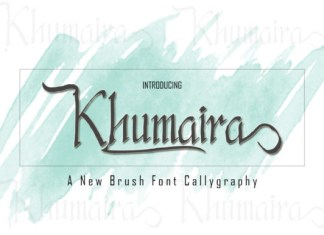 Khumaira font