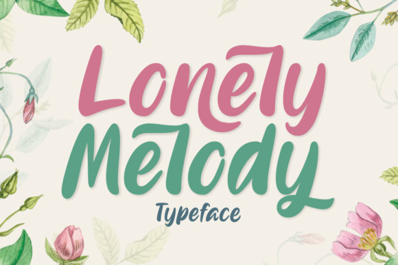 Lonely Melody Font