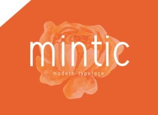 Mintic Font