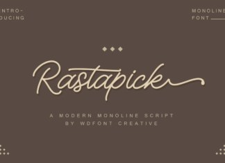 Rastapick Font