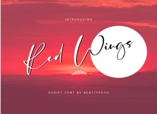 Red Wings Font