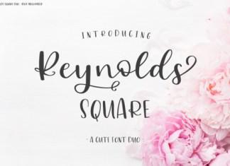 Reynolds Square  font