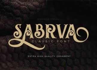 Sabrva Font