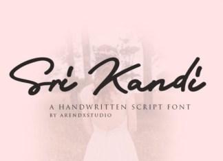 Sri Kandi Font