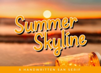 Summer Skyline Font