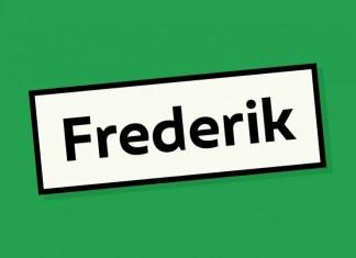 Frederik Font Family
