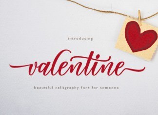 Valentine Script Font