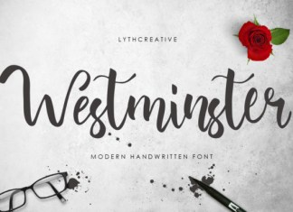 Westminster Font