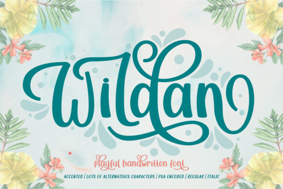 Wildan Font