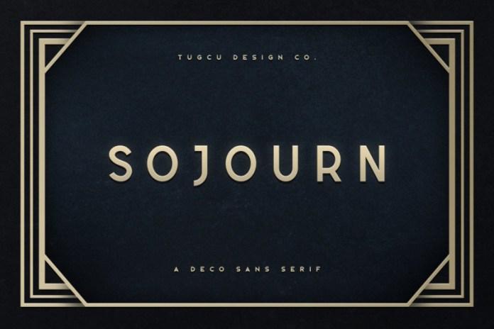 Sojourn Typeface Font
