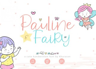 Pauline and Fairy Font