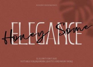 Honeysome Script Font