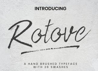Rotove Font