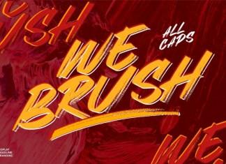 Webrush Font