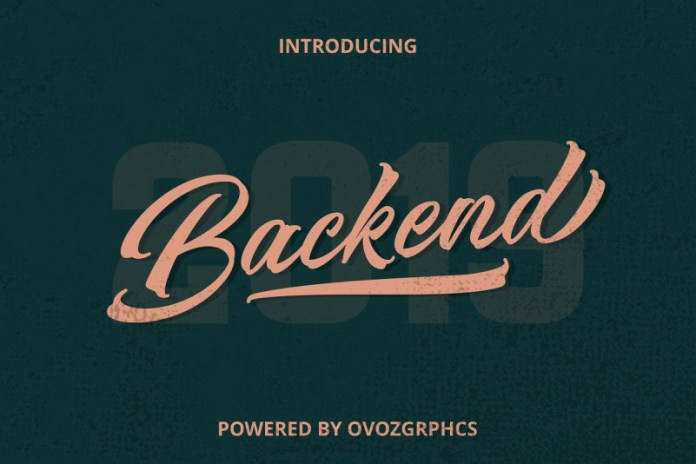 OFF BackEnd Fonts