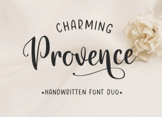 Charming Provence Font