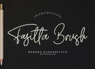 Fasitta Brush Font