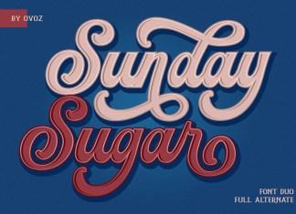 Sunday Sugar Script Font