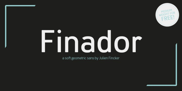 Finador Font Family