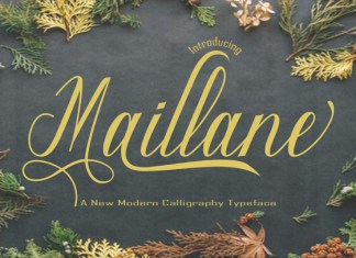 Maillane Script Font