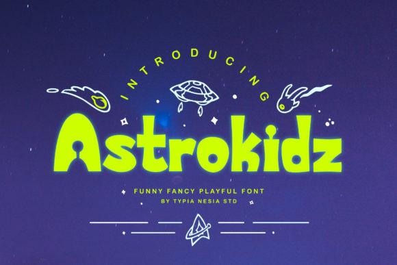 Astrokidz Font