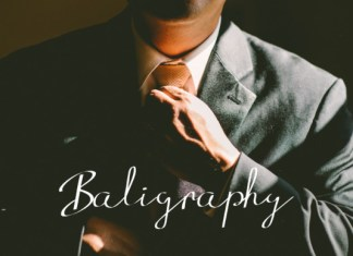 Baligraphy Font