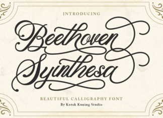 Beethoven Syinthesa Font