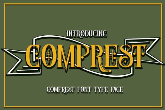 Comprest Font