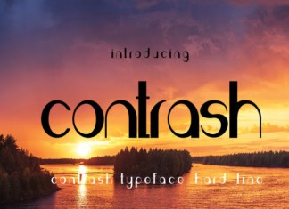 Contrash Font