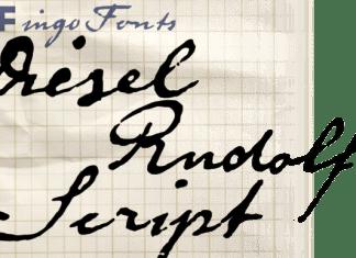 Diesel Rudolf Script Font