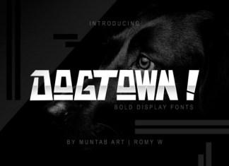 Dogtown Font