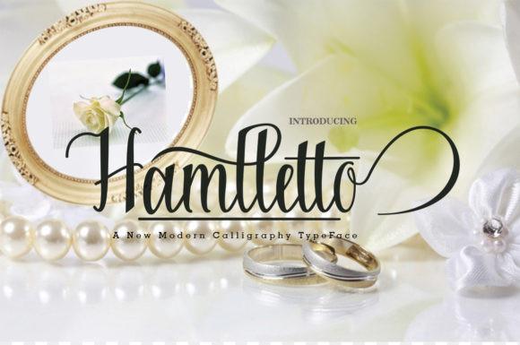 Hamlletto Font
