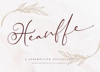 Heanffe Font