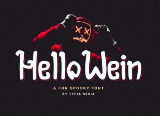 Hello Wein Font