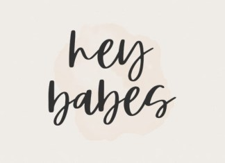 Hey Babes Font