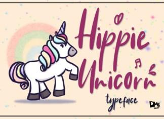 Hippie Unicorn Font